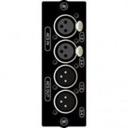 Опциональная карта Soundcraft SI AES/EBU 4+4 XLR OPTION CARD