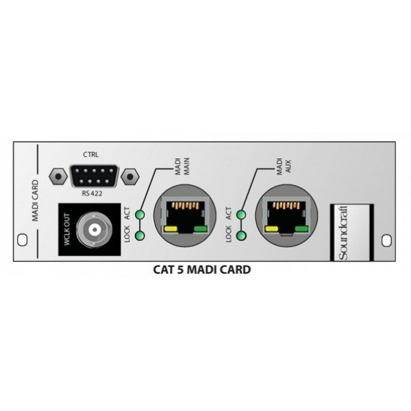 Многомодовая карта Soundcraft CSB Optical MADI HD card Multi mode