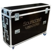 Кейс Soundcraft Vi7000 flightcase inc 2 x monitor mount + 4 U of rack space